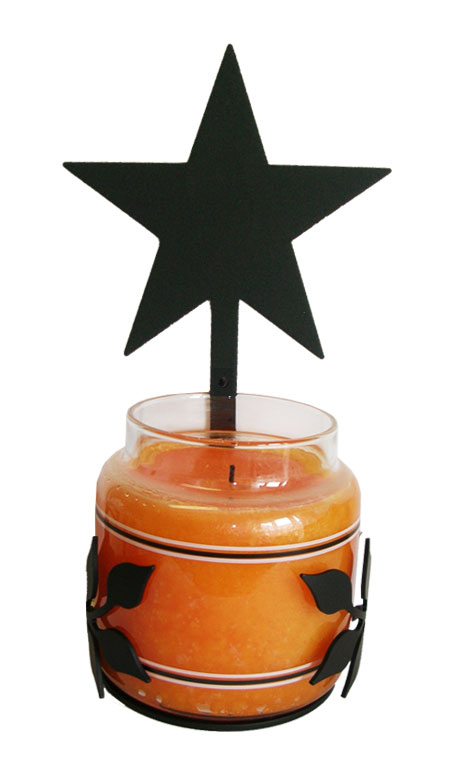 Star - Large Jar Sconce