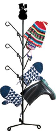 Snowman - Mitten or Boot Dryer Holds 8 Pair