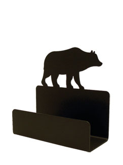 NO LONGER AVAILABLE - Bear - Business Card Holder