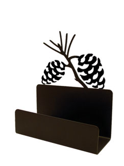 NO LONGER AVAILABLE -Pinecone - Business Card Holder