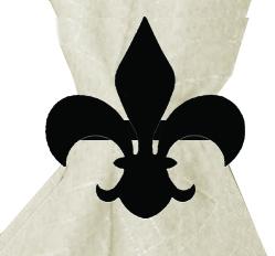 Fleur-de-lis - Napkin Ring