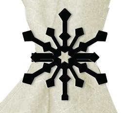 Snowflake - Napkin Ring