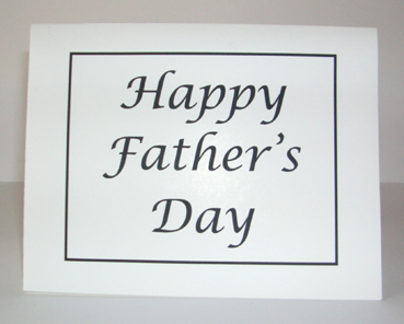 Happy Father's Day with Envelope