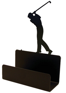 NO LONGER AVAILABLE - Golfer - Business Card Holder