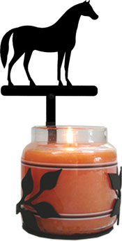 Standing Horse - Large Jar Sconce