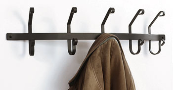 Coat Bar with 5 hooks