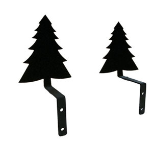 Pine Tree - Curtain Swags