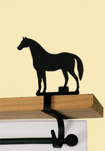 Horse - Curtain Shelf Brackets