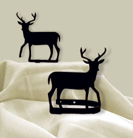 Deer - Curtain Tie Backs