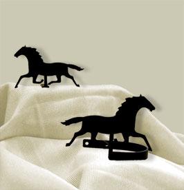 Running Horse - Curtain Tie Backs