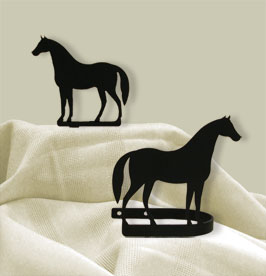 Standing Horse - Curtain Tie Backs