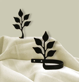 Leaf - Curtain Tie Backs