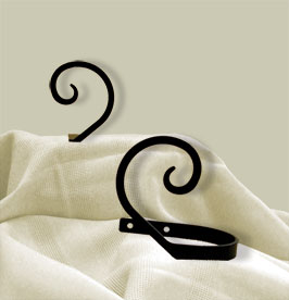 Scroll - Curtain Tie Backs