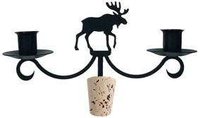 Moose - Wine Bottle Topper