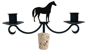 NO LONGER AVAILABLE - Horse - Wine Bottle Topper