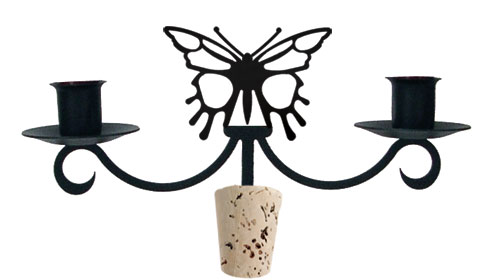 NO LONGER AVAILABLE - Butterfly - Wine Bottle Topper