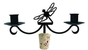 Dragonfly - Wine Bottle Topper
