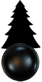 Pine Tree - Door Knob