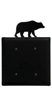 Bear - Double Elec. Cover - CUSTOM Product - If Out Of Stock, Allow 4 to 6 Weeks
