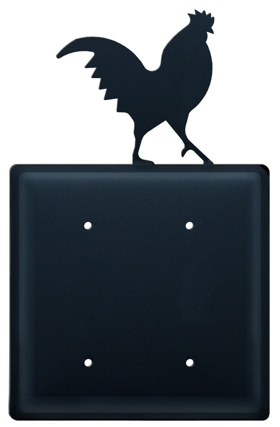 Rooster - Double Elec. Cover - CUSTOM Product - If Out Of Stock, Allow 4 to 6 Weeks