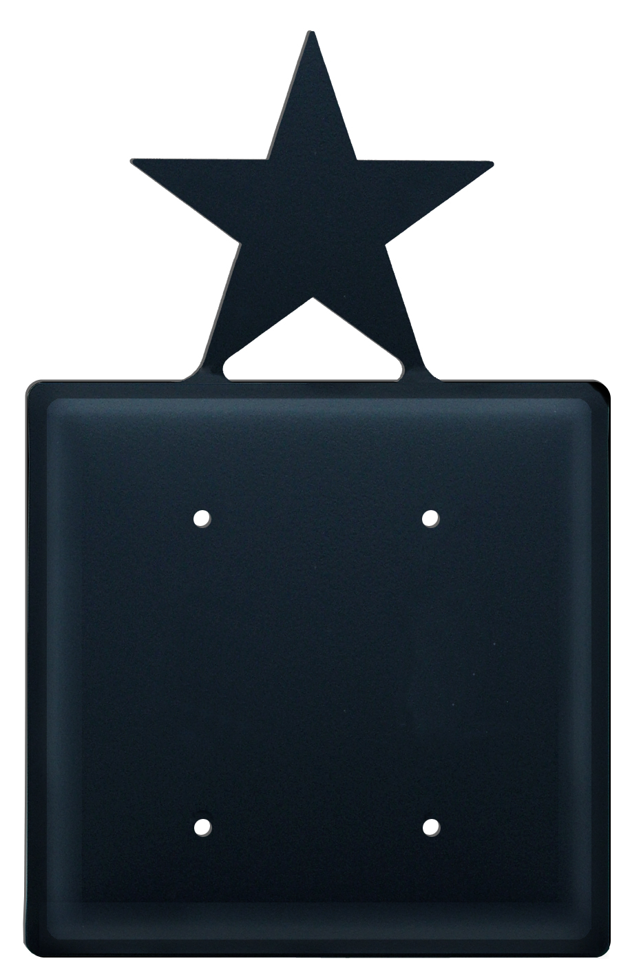 Star - Double Elec. Cover - CUSTOM Product - If Out Of Stock, Allow 4 to 6 Weeks