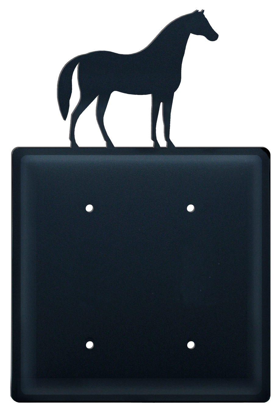Horse - Double Elec. Cover - CUSTOM Product - If Out Of Stock, Allow 4 to 6 Weeks