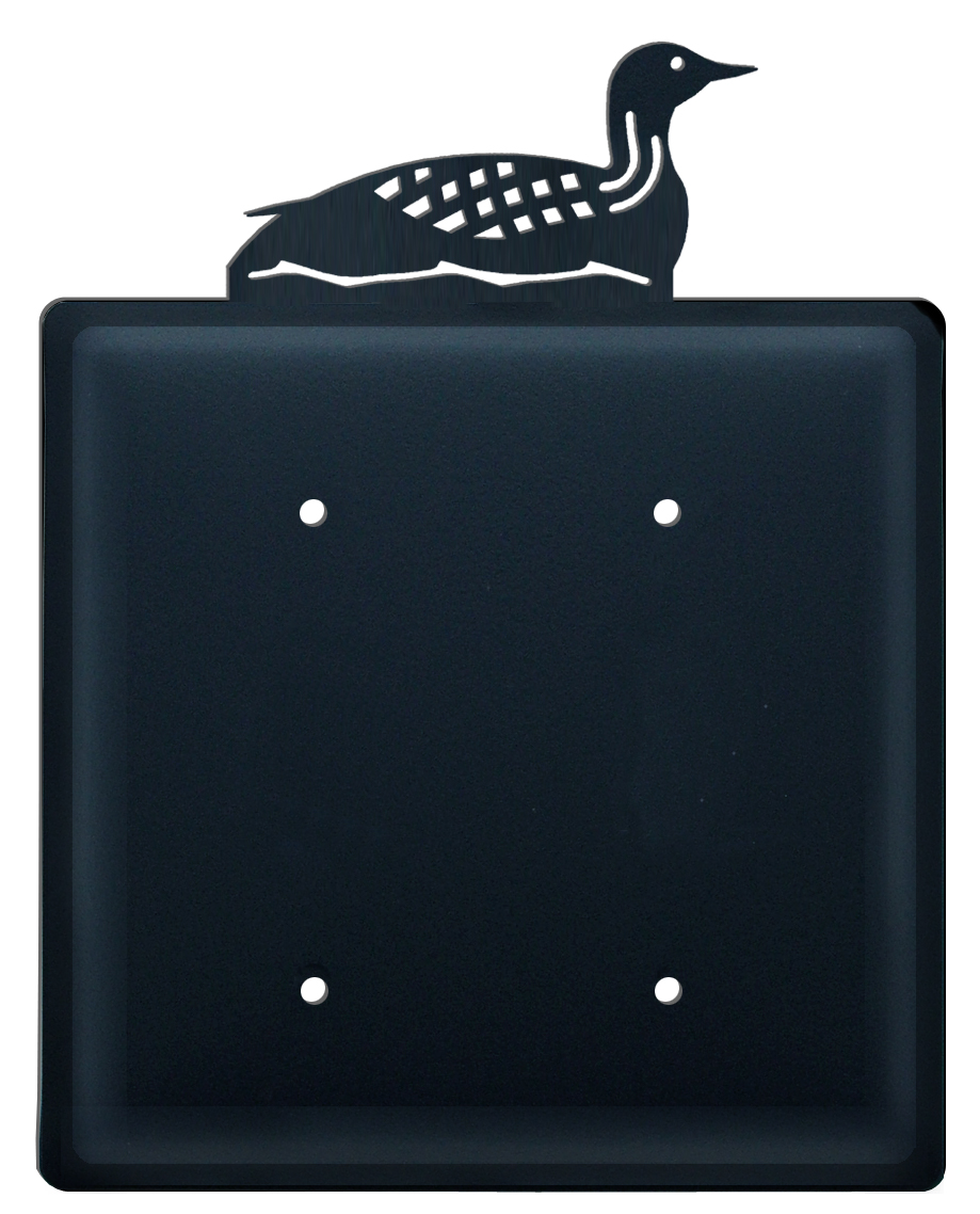 Loon - Double Elec. Cover - CUSTOM Product - If Out Of Stock, Allow 4 to 6 Weeks
