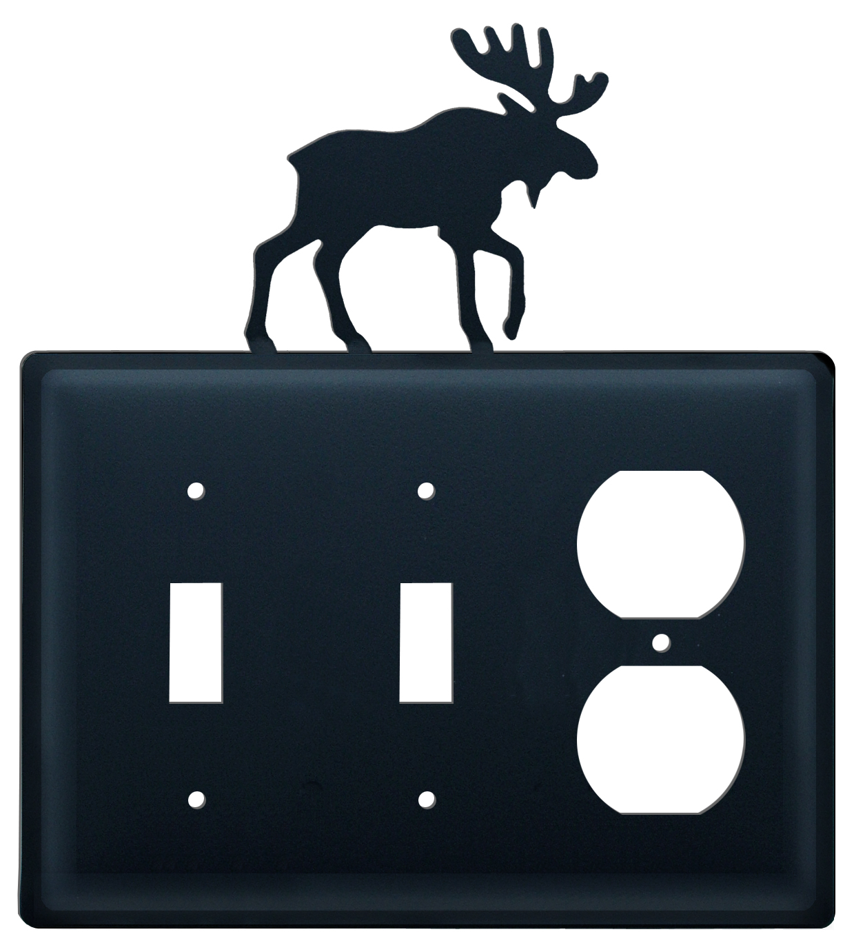 Moose - Double Switch & Single Outlet Cover