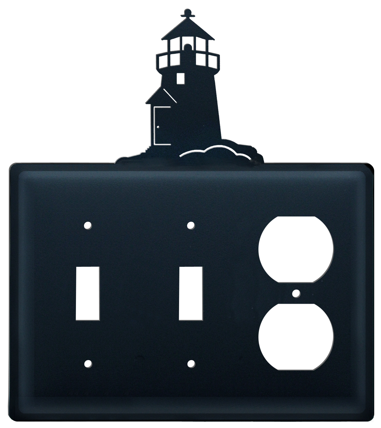 Lighthouse - Double Switch & Single Outlet Cover