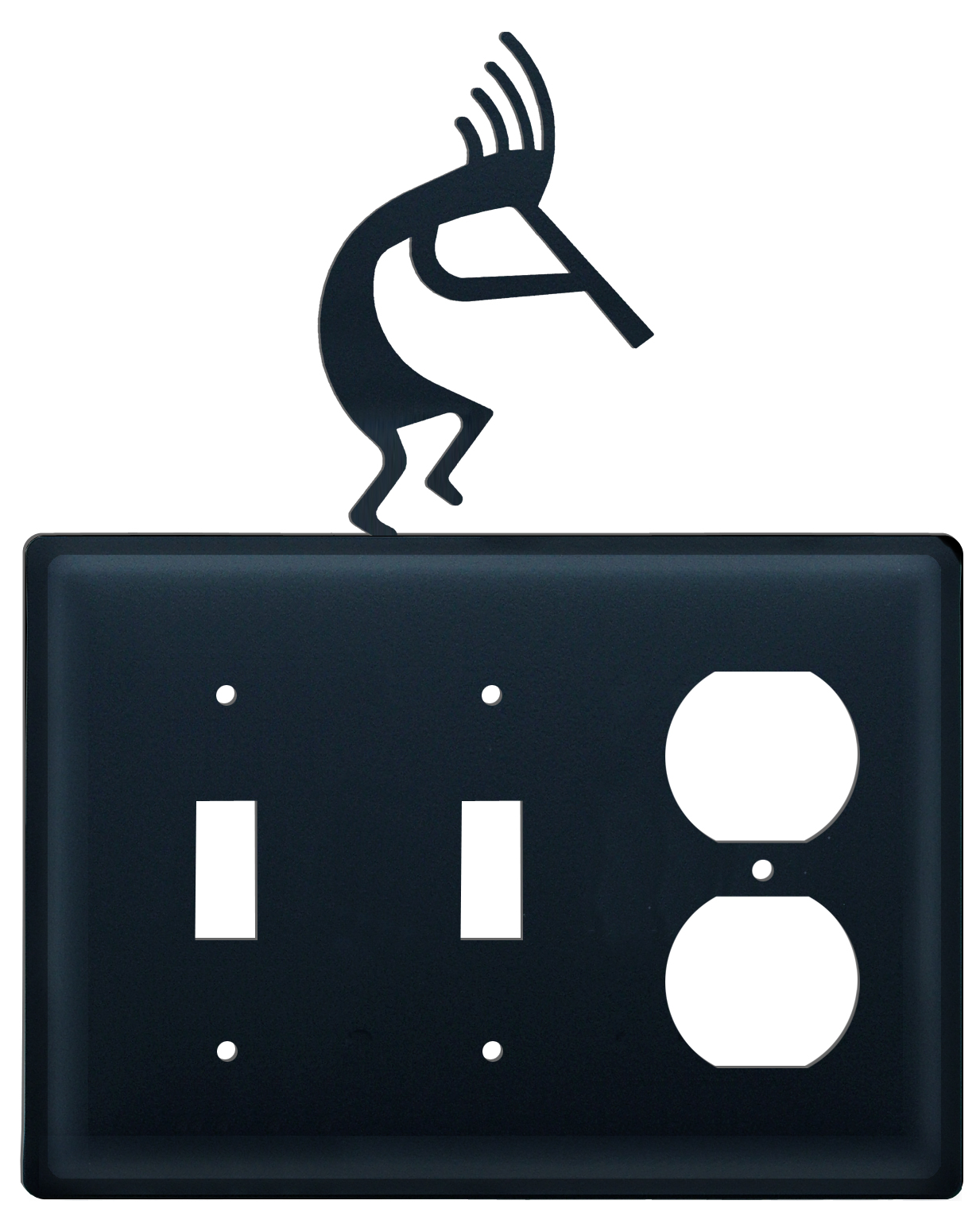 Kokopelli - Double Switch & Single Outlet Cover