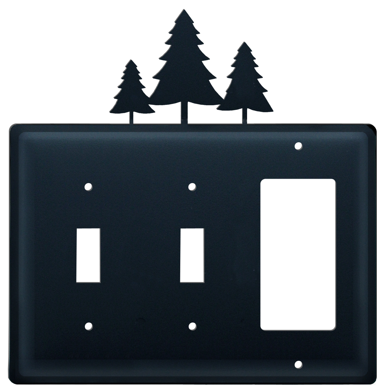 Pine Trees -  Switch Cover Triple