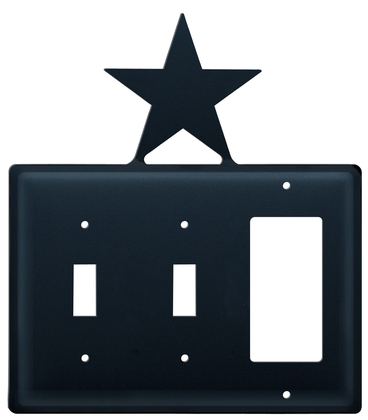 Star -  Switch Cover Triple