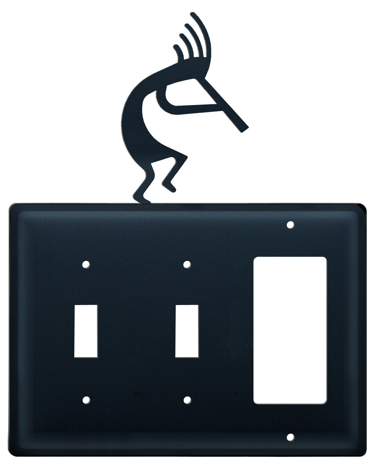 Kokopelli -  Switch Cover Triple