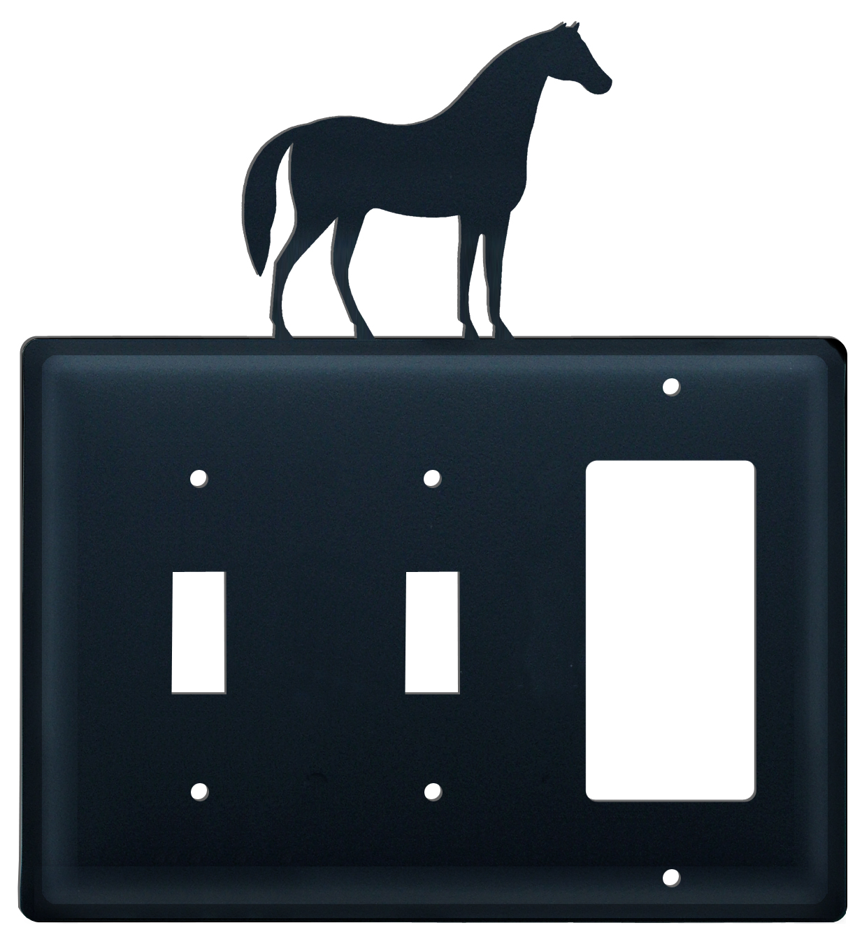 Horse -  Switch Cover Triple