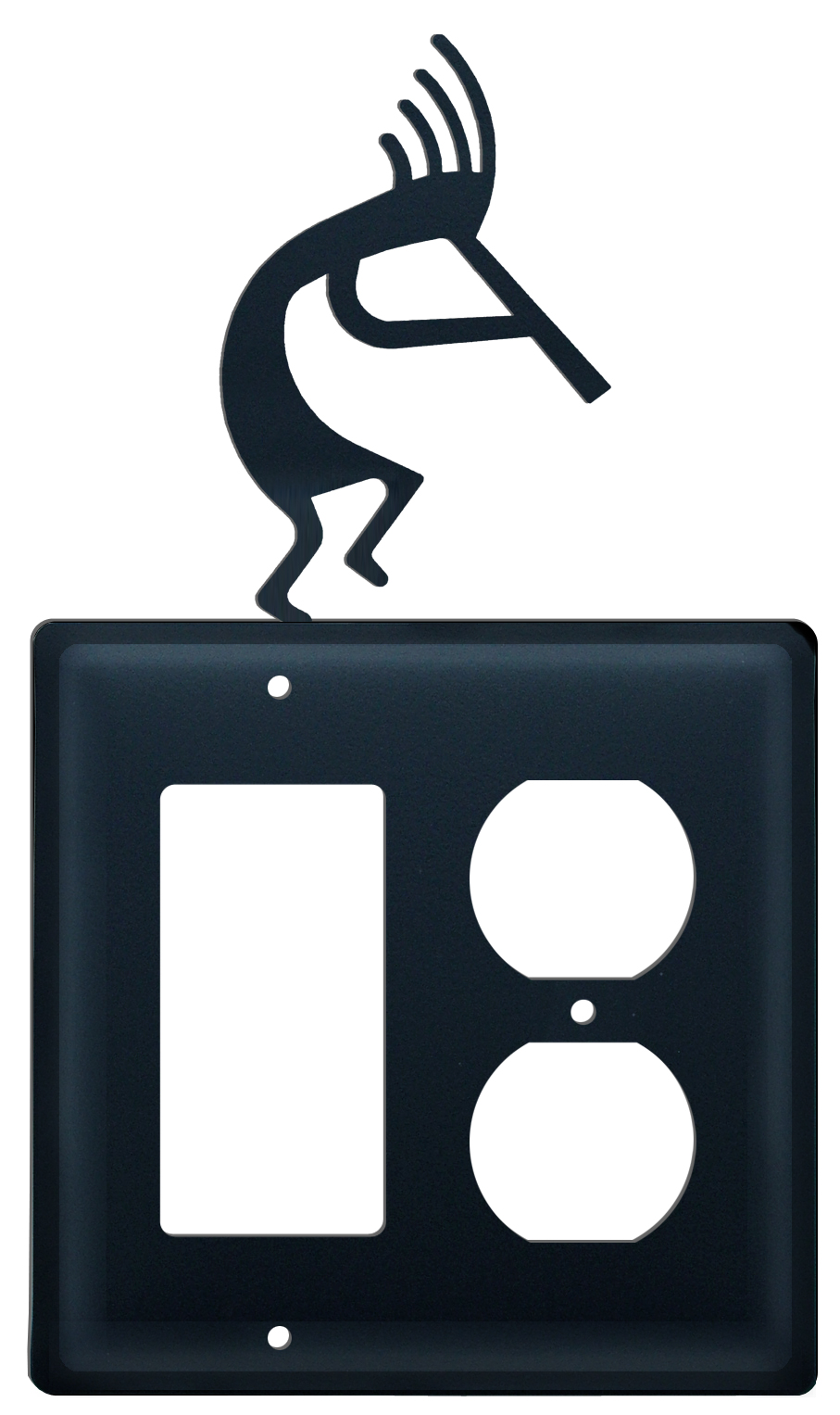 Kokopelli - Single GFI &, Outlet