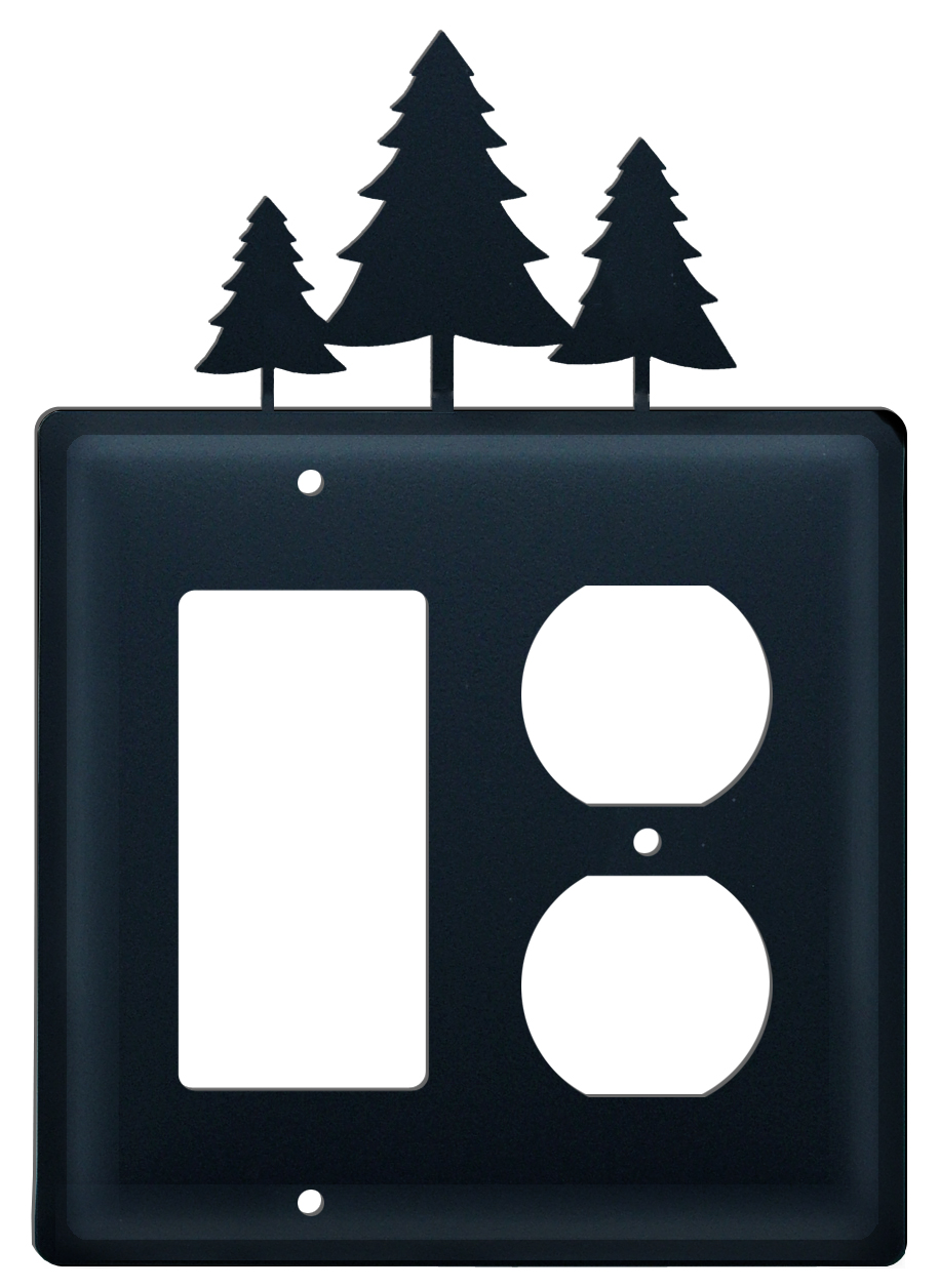 Pine Trees - Single GFI &, Outlet