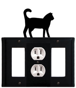 Cat - Single GFI, Outlet and GFI Cover