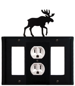Moose - Single GFI, Outlet and GFI Cover