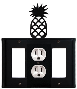 Pineapple - Single GFI, Outlet and GFI Cover