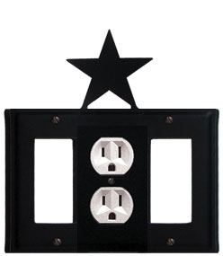 Star - Single GFI, Outlet and GFI Cover