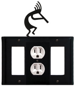 Kokopelli - Single GFI, Outlet and GFI Cover