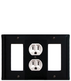 Plain - Single GFI, Outlet and GFI Cover