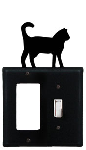Cat - Single GFI and Switch Cover
