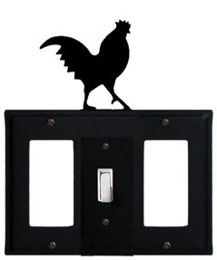 Rooster - Single GFI, Switch and GFI Cover
