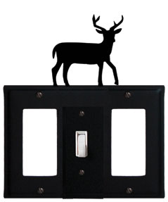 Deer - Single GFI, Switch and GFI Cover