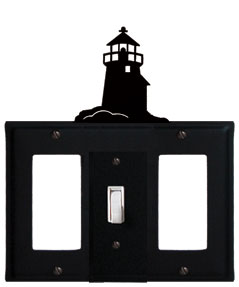 Lighthouse - Single GFI, Switch and GFI Cover