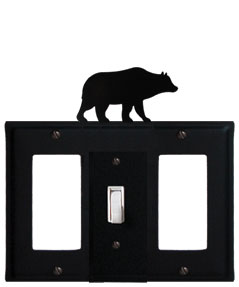 Bear - Single GFI, Switch and GFI Cover