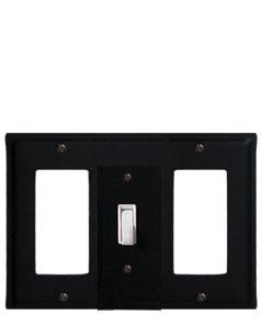 Plain - Single GFI, Switch and GFI Cover