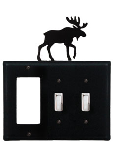Moose - Single GFI and Double Switch Cover