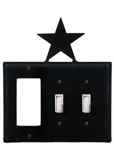Star - Single GFI and Double Switch Cover